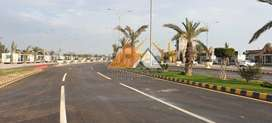 10 Marla Plot (Booking in 4.5 Lac) on installments Al-Noor Orchard LHR