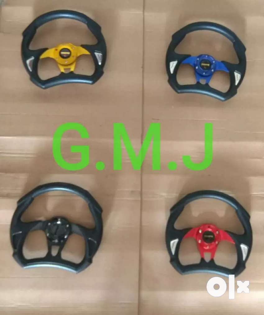 Sports steering wheel for all cars suvs 0