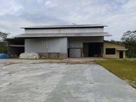 Dijual Pabrik Beras di Pulang Pisau,  Kalimantan Tengah