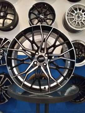 VELG RACING MODEL AMW RING17X7.5 PCD4X100/114.3 VIOS AVANZA VELOZ