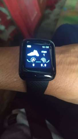 116 plus smart band watch with step count heart rate