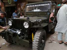 Willys 52 with hilux engine