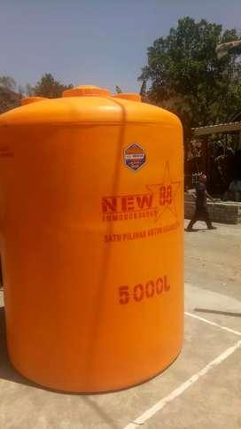 Tandon Karanganyar toren 5000 liter