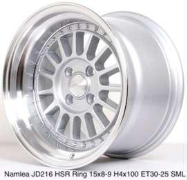 VELG MOBIL NAMLEA JD216 HSR R15X8 H4x100 ET30 SML
