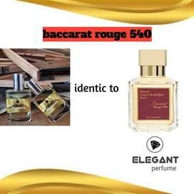 Elegant perfume inspired to baccarat rouge 35ml