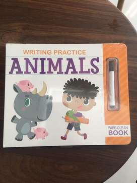 Buku Import Writing Practice Animals