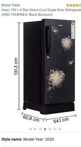 Very new Refrigerator 2020 Model - Haier Nice Condition