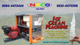 Ice Cream Machine with Engine (no electricity)