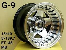ISTANA VARIASI READY R15 Mister XD 5Hole Escudo Cherokee Jimny DLL
