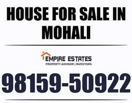 8 Marla Triple-Storey facing- park in Phase-1, Mohali