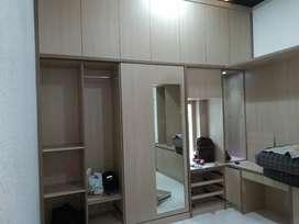 Sedia jasa bahan dan tenaga, pembuatan furniture interior bahan HPL