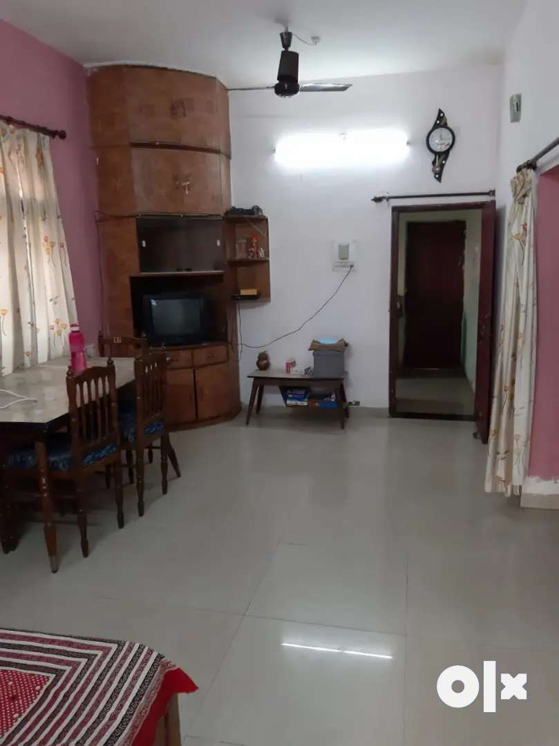 2bhk ground floor full furnished house available for rent