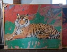 Lukisan Harimau M Tono