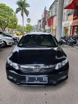 Jual Honda Civic 2013 Matic Hitam Bandung (plat nomor pilihan)