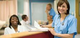 Receptionist for Hospital