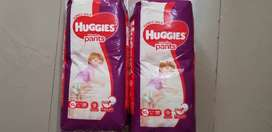New unused Huggies XL (12-17)kg 38pants