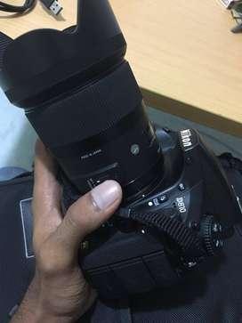 Kamera Nikon D810 kit AsSFR + Lensa