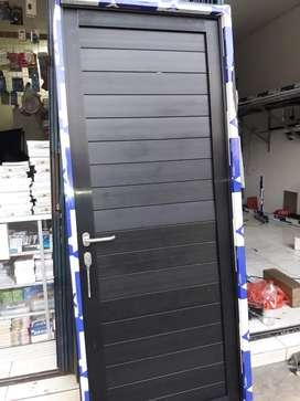 Pintu alumunium alexindo dobel spandrel plus pasang uk 205cm x 80cm
