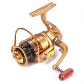 Reel Pancing 5.2:1 12+1 Ball Bearing Debaone GR3000 Spinning - Golden