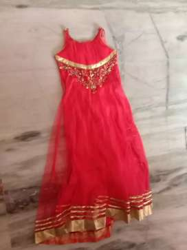 Red frock full frock