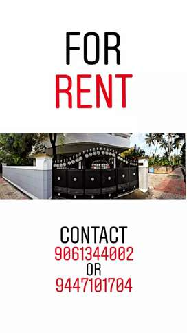 Apartment house for rent at Eanchackal