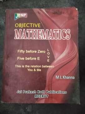 Objective mathematics ..