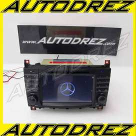 "Head Unit Android 10 Mercy C-Class W203 Facelift ""04 - 07 Tercanggih"