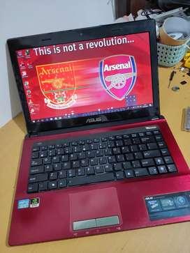 Laptop Gaming Render Asus CORE i3 RAM4GB 500GB Dual VGA Nvidia