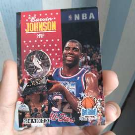 Original Allstar MVP Magic Johnson NBA Skybox