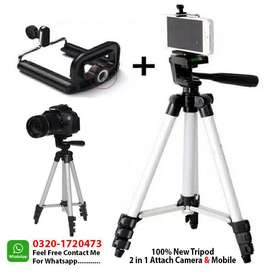 High Quality Tripod Stand & Holder for Mobile/Camera/DSLR