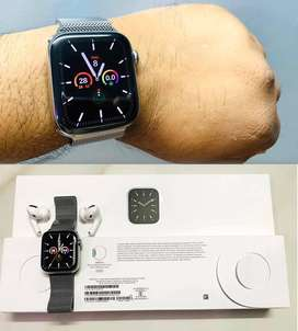 Apple Series 6 44 mm stainless still sale 7 months