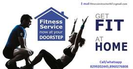 YOGA &FITNESS INSTRUCTOR(TRAINING BY PERSONAL TRAINER)AT YOUR DOORSTEP