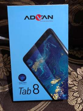 tablet advan Tab 8 2020 ram 3gb memory 16gb new baru segel grs 1 thun