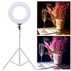 Lampu Halo Ring Light LED Kamera DSLR Smartphone 65W 336 LED 12 Inch