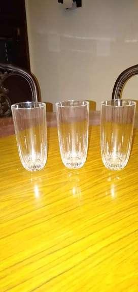Gelas kristal (Capri Crystal Cristallo Al Piombo 24% glasses)