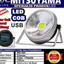Lampu Emergency Cob 10 Watt