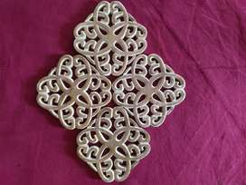 Wooden wall decoration