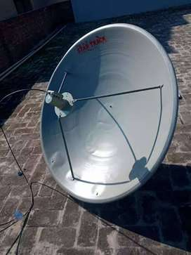 Hd dish antenna and complete set