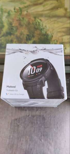 Ticwatch E2 Android WearOS Smartwatch - new, unopened packed box,