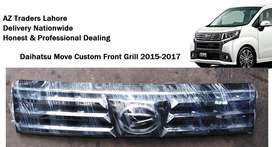 Daihatsu Move Custom Front Bumper Grill 2015 Chrome Original Japan