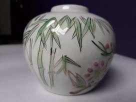 Guci Keramik Kuno Porselen Antik Vintage model Buli Vas Bunga Klasik