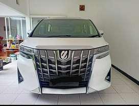 Dijual mobil alphard km rendah