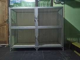 Kandang Kucing Alumunium Jumbo 160x60x130
