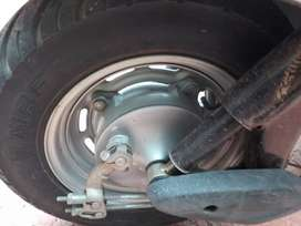 Activa front wheel with Tyre