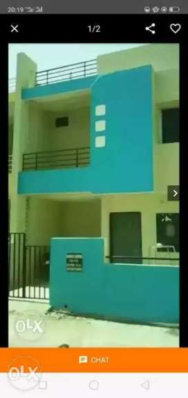 Urgent sale 800 sqft duplex only 35 lac behind people's mall