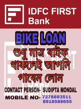 If you want to getloan against bike contact8.9.1.8.5.8.8.sixfivefive