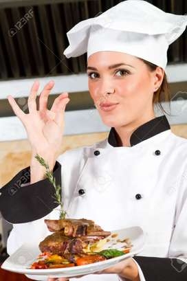 24hour female cook need