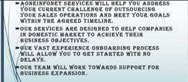 Business development Brand support services