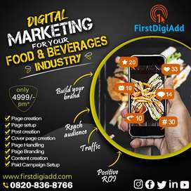 Grow Your Food and Beverage Business with Digital Marketing