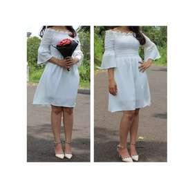 Dress putih/ baju prewed
